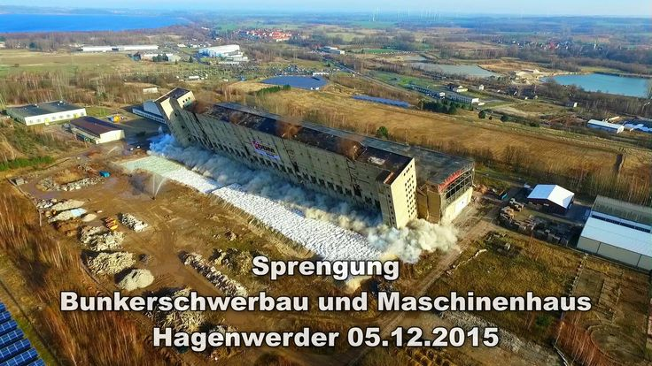 Sprengung Bunkerschwerbau Hagenwerder 05.12.2015