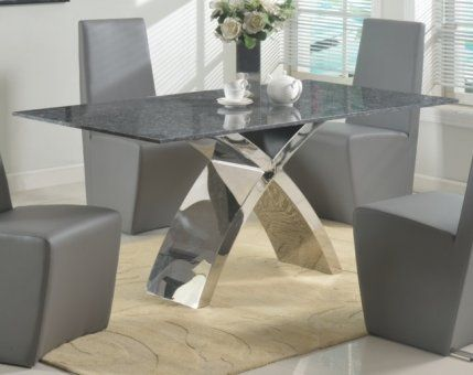 faux granite dining table set black tables top for sale