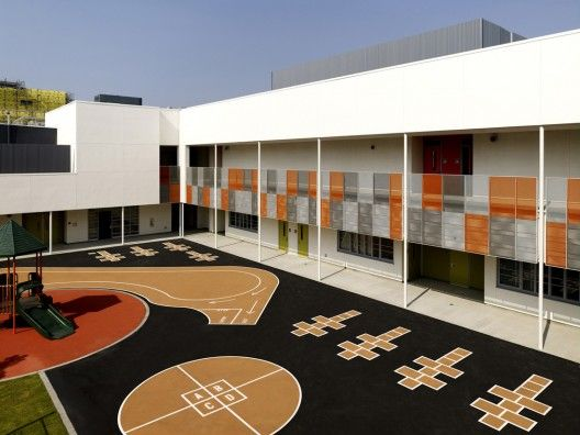 Ambassador School Gonzalez Goodale Architects Secondary Schools Angeles And Los Angeles