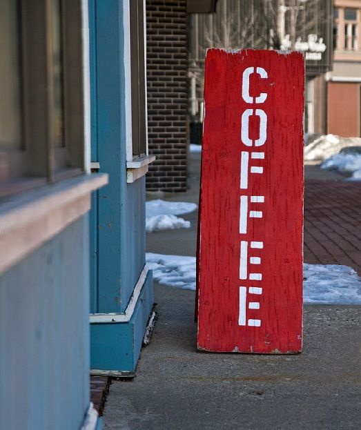 Coffee Shop Signs