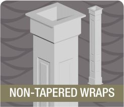Best 25 column wrap ideas on pinterest porch column for Fypon column wrap