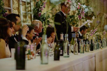 Green Pea Studio - wedding flowers for fabulous wedding at Comrie Croft