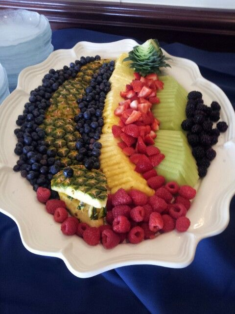 Alligator fruit tray that Travis made today.