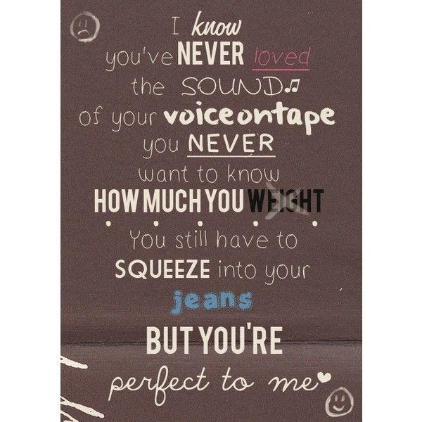 One Direction Song Lyrics Quotes: 44 Best One Direction Lyrics Images On Pinterest