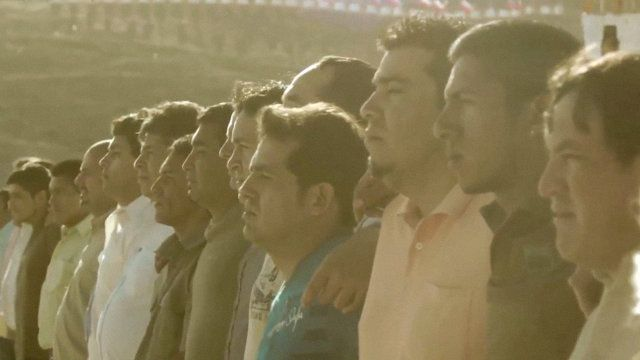 World Cup - Chilean Miners Star In Powerful World Cup Ad