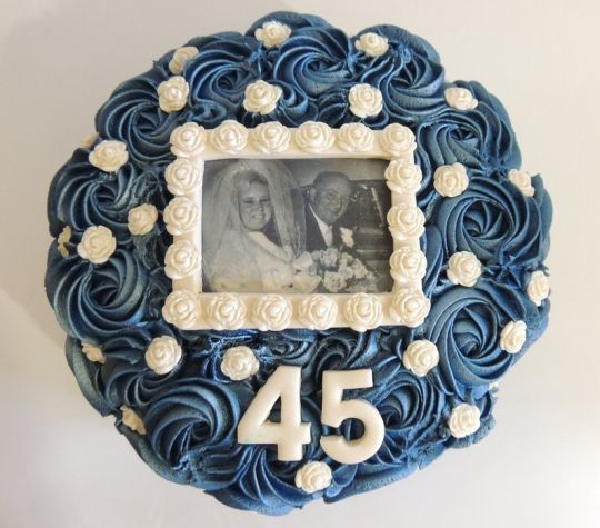 45th Sapphire Wedding Anniversary