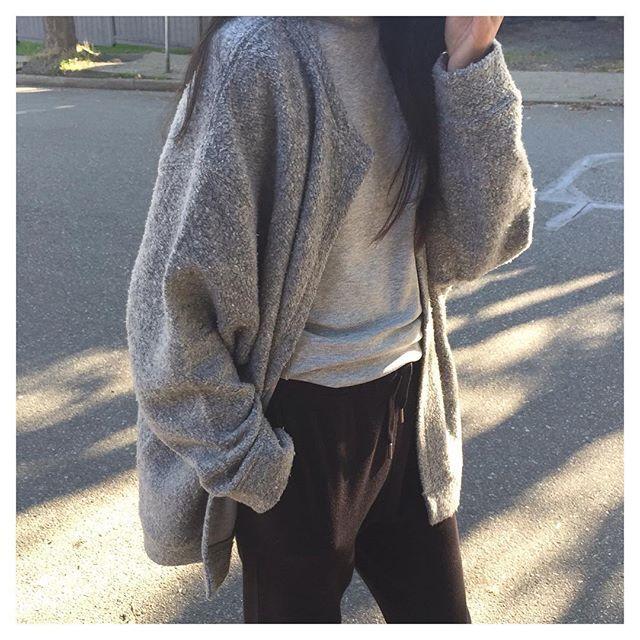 Ultimate comfort // In t-shirt DA1, sweater 1126 and pant 5044 #oakandfort