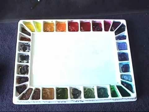 Watercolor tips & tricks.