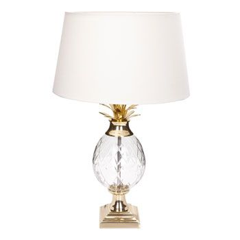 Lampe ananas Zara home