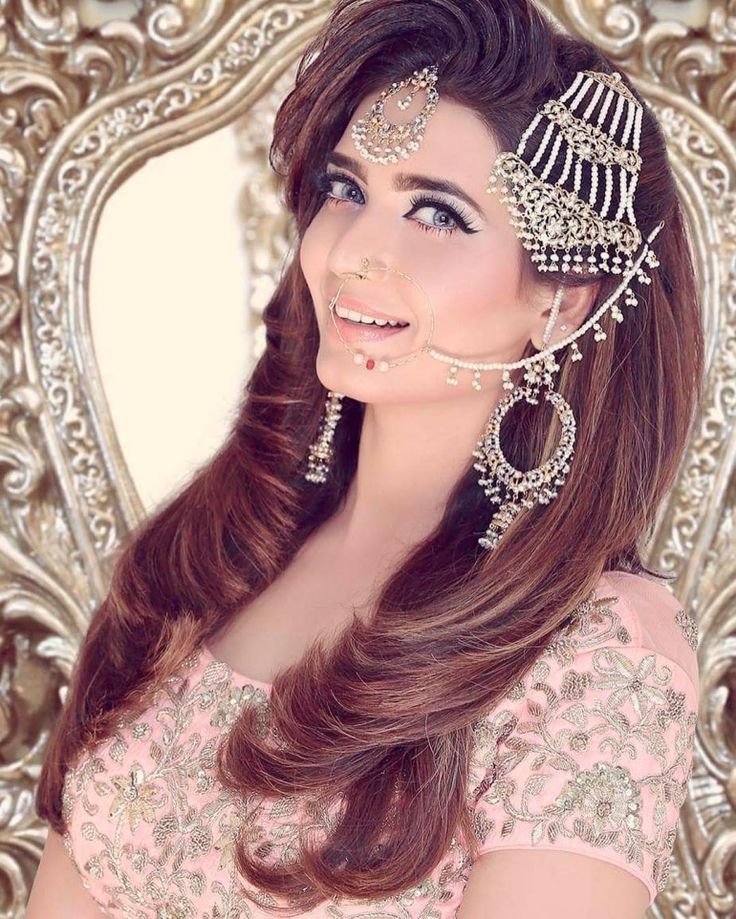 34+ Indian Muslim Bridal Hairstyle