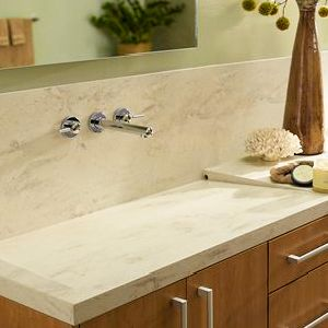 Elegant Solid Surface Countertops Are Constructed Of Durable, Man Made Acrylic To  Provide Years Of