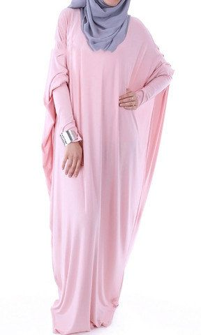 Viscose Butterfly Maxi Dress Abaya Various Colors by ShopIslam