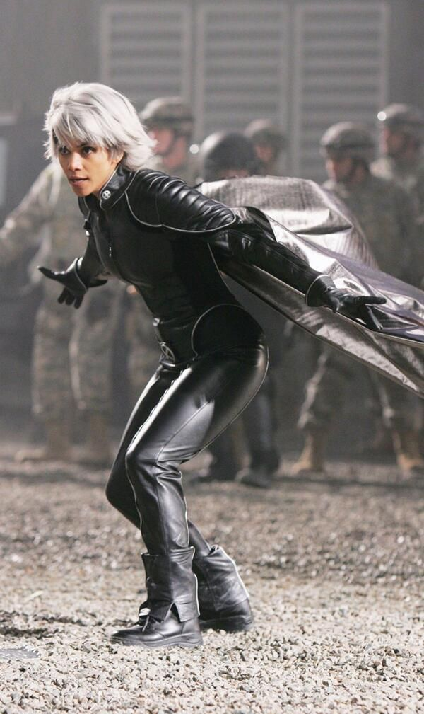 Storm played by Halle Berry