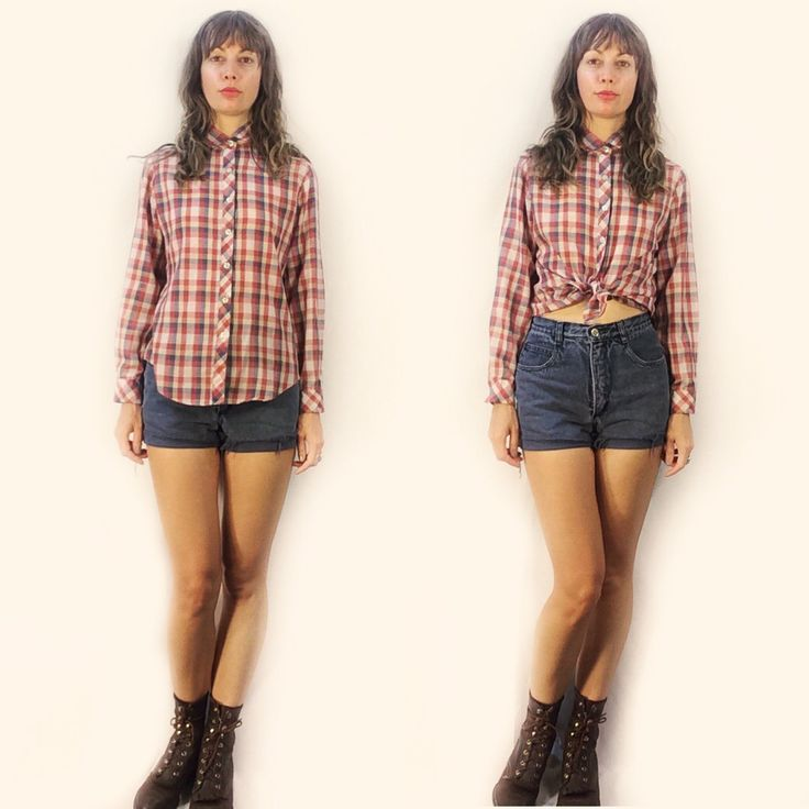 Women's #vintage #plaid blouse, size medium. Now available in store and online. Link in bio to shop.  . #heytiger #shopheytiger  #vintageshop #vintagestyle #vintageforsale #vintagefashion #retro #retrostyle #boho #cowgirl #newarrivals #ooak #onlineshop #outfit #wtw #fallfashion #ootd #newarrivals #justlisted #preloved #sustainablefashion #recycledfashion #style #fashion #etsy  #etsyshop #etsyseller #etsyvintage #menswear
