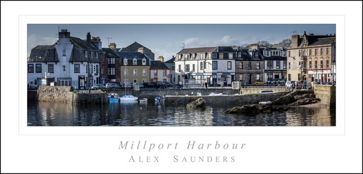 Millport is the only town on the island of Great Cumbrae in the Firth of Clyde off the coast of North Ayrshire. The town is four miles south from the Largs-based Caledonian MacBrayne ferry slipway. Click on this link http://picture-gallery.alexsaundersphotography.co.uk/ http://alex-saunders.artistwebsites.com/index.html and http://photo4me.com/canvasprints/Alex-Saunders #Scotland #Island #photography #outdoors
