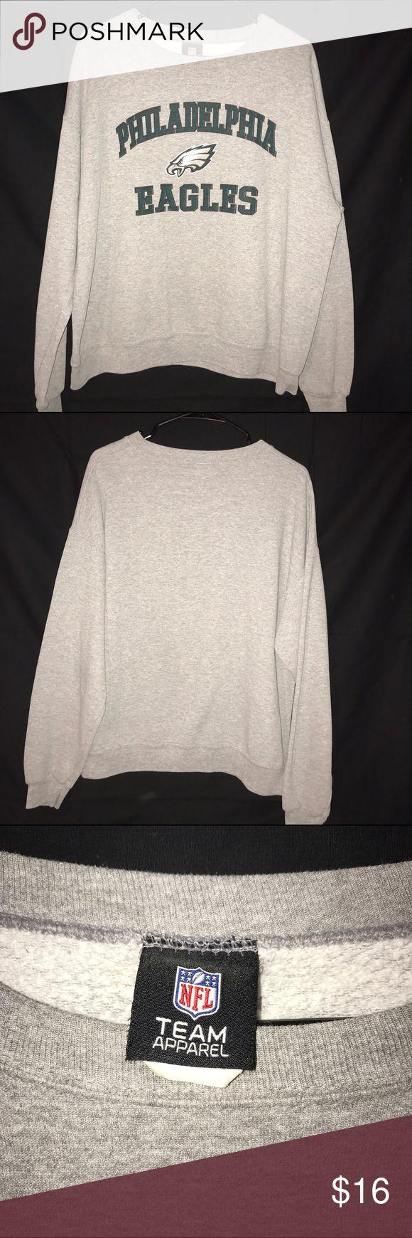 Philadelphia Eagles Sweatshirt Men's Philadelphia Eagles Sweatshirt. Size Large. Very nice condition, no issues. NFL Shirts Sweatshirts & Hoodies