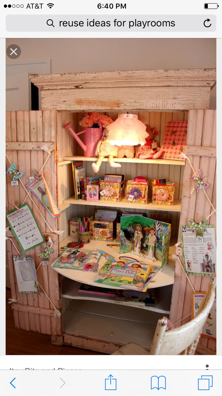 Itsy Bits And Pieces The Bachmans Spring 2011 Ideas House Bedrooms Pink Hutch Desk Space Love Butterflies Ribbon Crisscrossed Across Doors