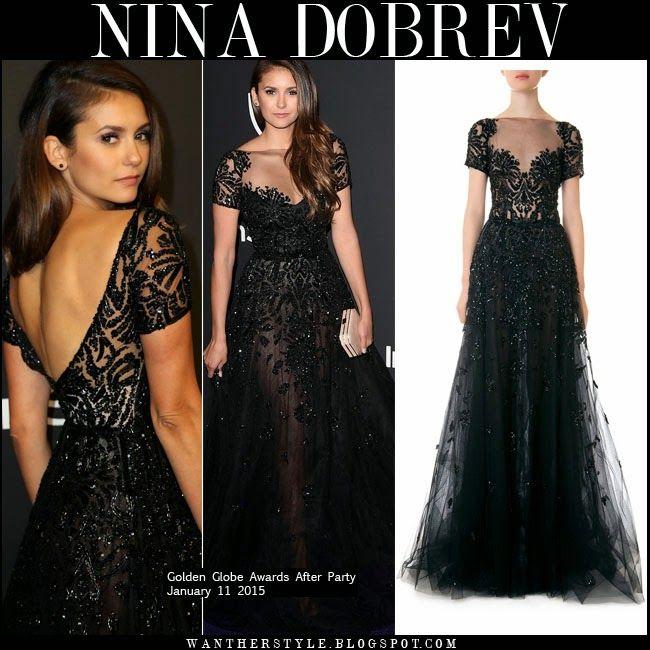 Lily Collins Golden Globes Dress Designer