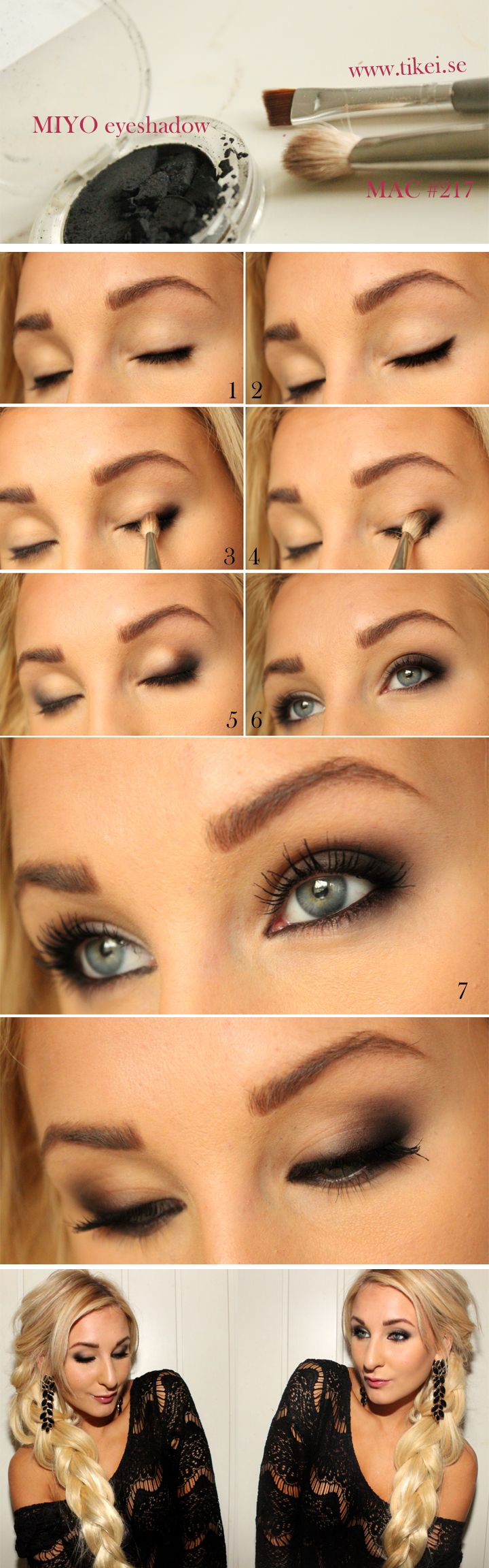 Oh I like this simmered down smokey eye