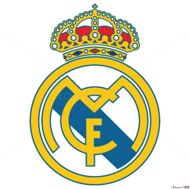 How to Draw Real, Madrid, Football Logos - How to Draw, Drawing Ideas, Draw Something, Drawing Tutorials portal
