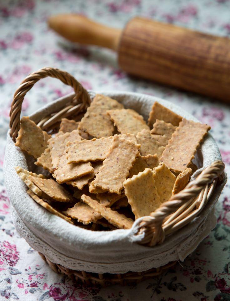 Sabe aqueles biscoitinhos integrais deliciosos e que a gente não consegue parar de comer?