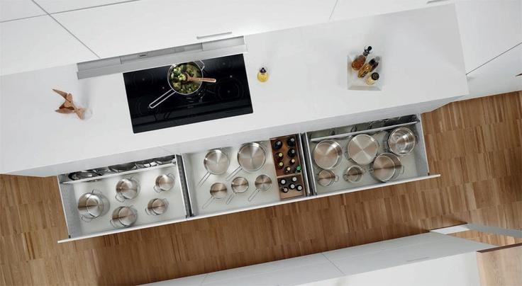 SANTOS kitchen | Third level drawer