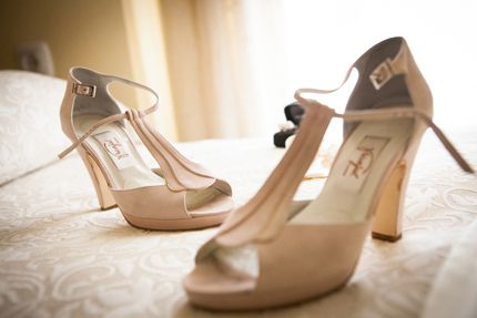 Zapatos de novia de Franjul