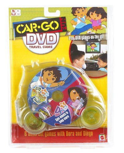 CarGo Fun Go Diego Go And Dora DVD Travel Game ** Find out more about the great product at the image link. Note:It is Affiliate Link to Amazon.