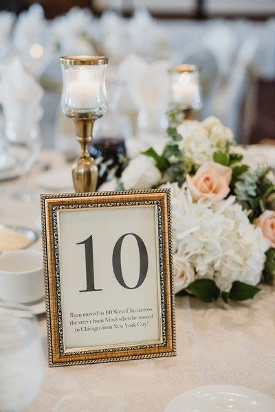 Classic Michigan Summer Wedding In 2018 Wedding Table Numbers