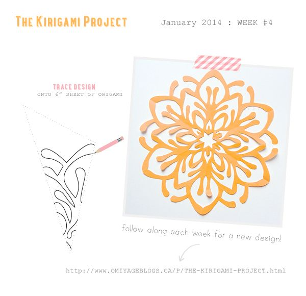 Omiyage Blogs: The Kirigami Project - Week Four - Fireworks