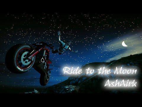 "【GTAO】 Grand Theft Auto Online ""Akuma"" Ride to the Moon at  Mt.Chiliad V..."
