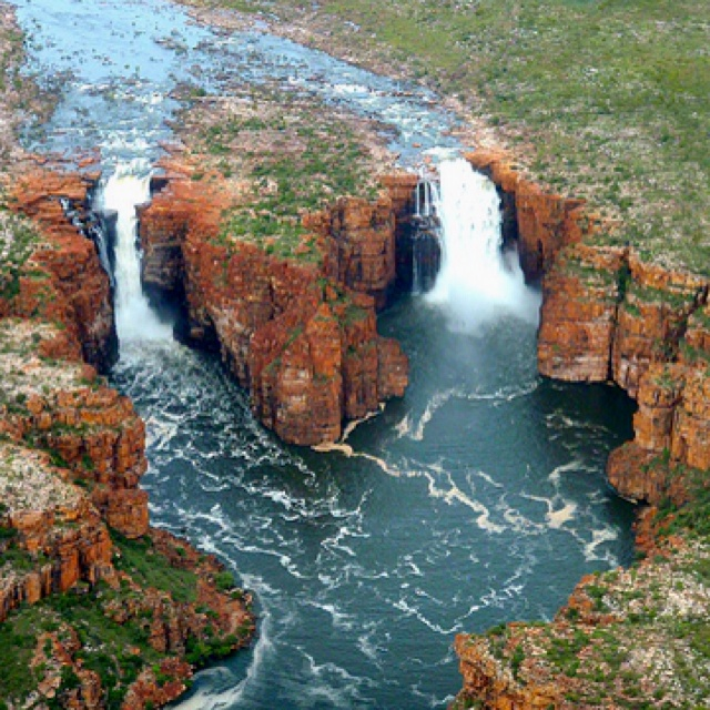 King George falls, Australia!  I have to go there!
