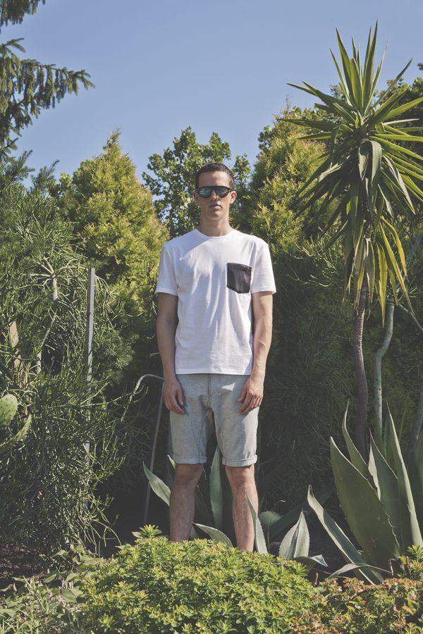 Of sharks and Men SS2015 Owen pocket t-shirt,  Logan shorts  #ofsharksandmen #OSAM