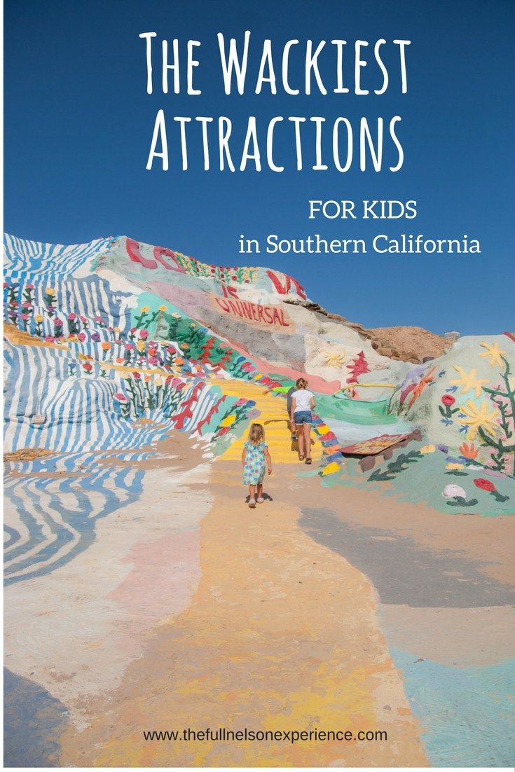 You'll find 4 of the wackiest, craziest attractions in the desert of Southern California including Salvation Mountain, Slab City, The International Banana Museum and the Salton Sea.
