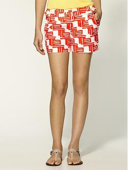 Shoshanna zulu print shorts... a must.