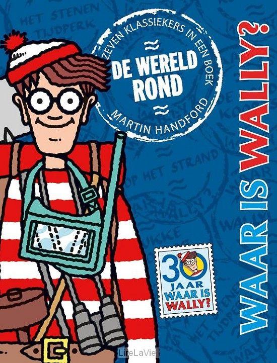 28 april 2017 De wereld rond, waar is Wally? De zeven fantastische Wally-boeken zitten hier samen in een boek.