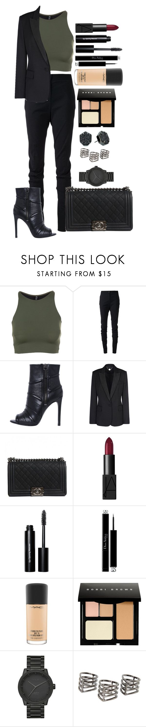 """Untitled #1340"" by fabianarveloc on Polyvore featuring Onzie, Vivienne Westwood Anglomania, Pierre Balmain, STELLA McCARTNEY, Chanel, NARS Cosmetics, Bobbi Brown Cosmetics, Christian Dior, MAC Cosmetics and LEFF Amsterdam"