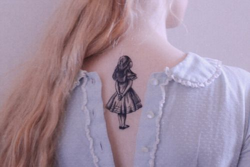 alice #tattoo