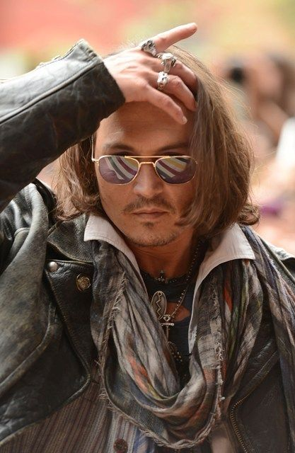 Johnny Depp at the TIFF premiere of West of Memphis 2012