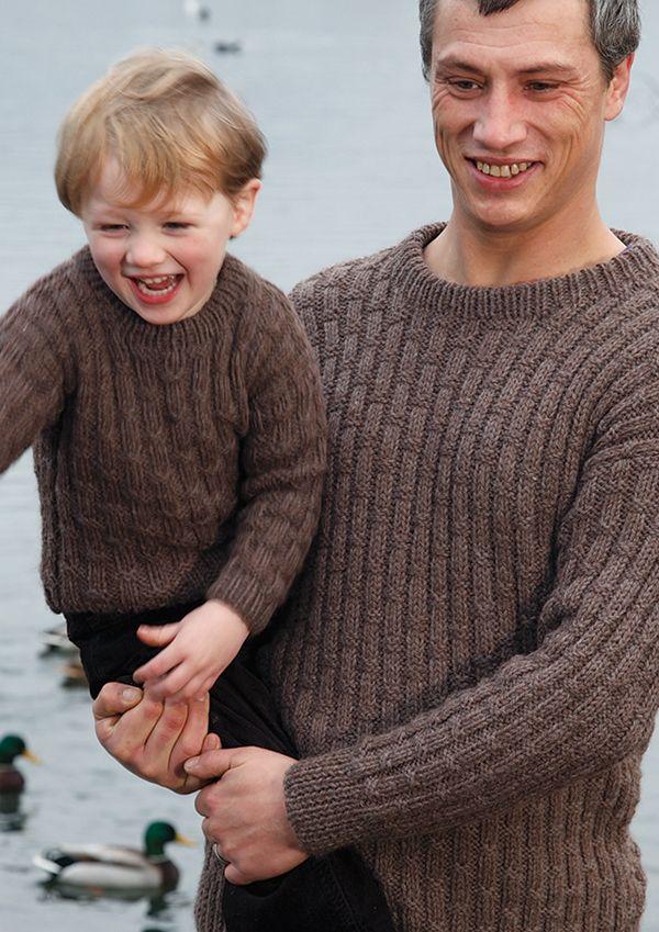 Father & Son Knitting Pattern