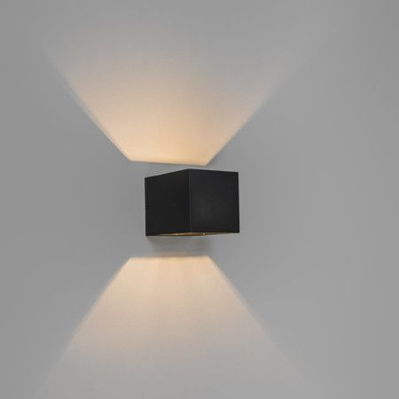 Wandlamp Transfer zwart - Eetkamerverlichting - Verlichting per ruimte - Lampenlicht.nl
