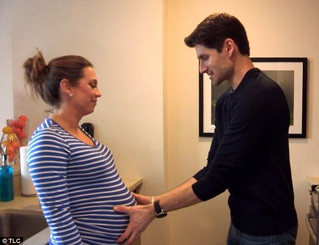 Excited: Good Morning America star Ginger Zee and husband Ben Aaron, pictured together, have revealed they conceived as soon as they started trying