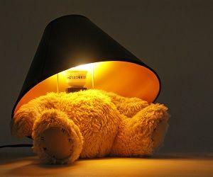 teddy bear lamp $82,99