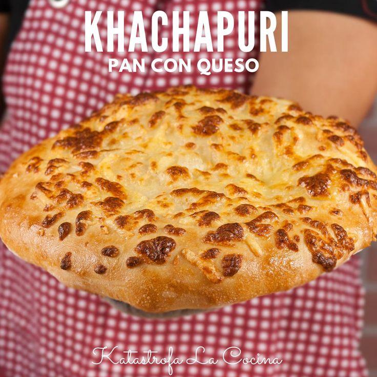 Este Pan de Queso Georgiano al que se le conoce como Megruli khachapuri es una delicia, con una costra de queso crujiente por encima que te encantara. Es una Receta de Pan con Queso con un aspecto de Pizza y un sabor único, perfecto para compartir, puedes hacer mas piezas individuales o como yo dos piezas grandes. Todas las recetas en detalle los encuentran en mi canal de YouTube: KATASTROFA LA COCINA #KatastrofaLaCocina #PanFrito #pan #PanEnSarten #receta #recetas #RecetasFaciles #cocina Pan Frito, Georgian Food, Pan Relleno, Yeast Bread Recipes, Sourdough Bread, Bread Rolls, Quick Bread, Dragon Ball, Pizza