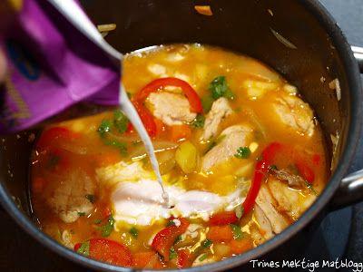 Denne oppskriften er inspirert av den indiske kyllingsuppen, som virker å ha falt i smak hos flere av mine lesere.
