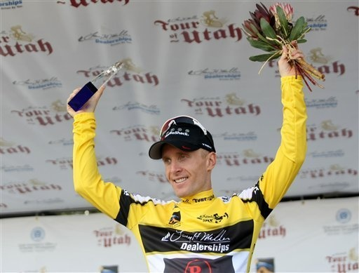 Levi takes the W in the 2011 Tour of Utah!