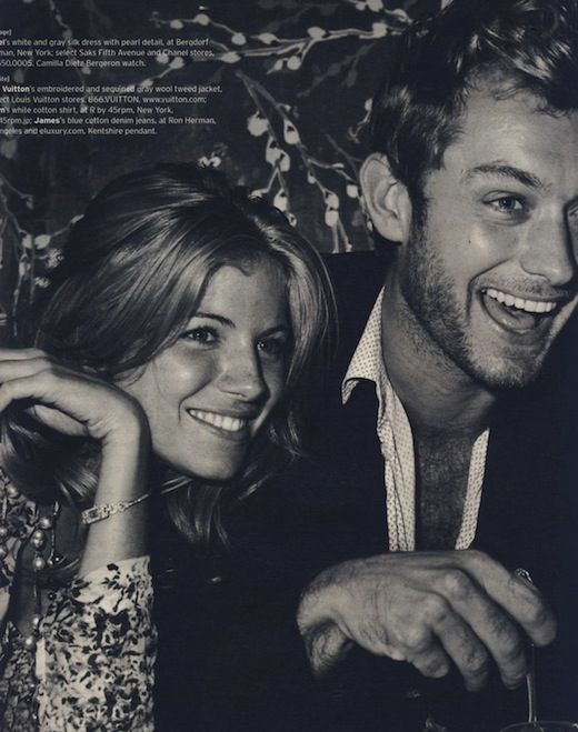 Fashion Flashback: Sienna Miller & Jude Law in NYC - Coco's Tea Party