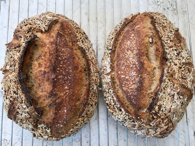 Light Rye Sourdough with Caraway Seed - Powered by @ultimaterecipe