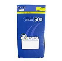 "Columbian No. 6 3/4"" Grip-Seal Security Envelopes - 500 Pack"