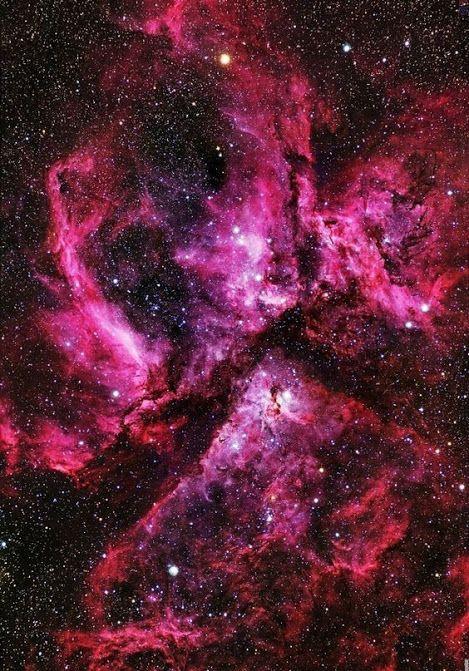 The Carina Nebula | also called the Carina Nebula, Eta Carinae Nebula or NGC…